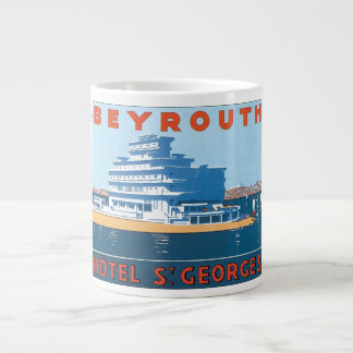 Beyrouth, Hotel  St. Georges Large Coffee Mug