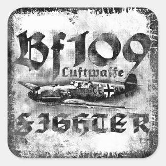 Bf 109 Square Sticker