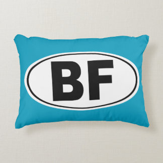 BF Beaver Falls Pennsylvania Decorative Cushion