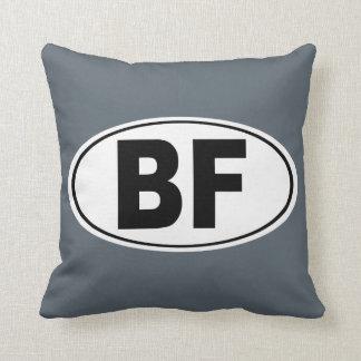 BF Beaver Falls Pennsylvania Throw Pillow