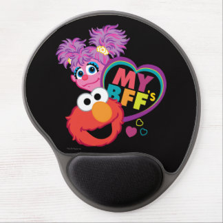 BFF Abby and Elmo Gel Mouse Pad