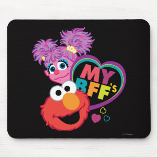 BFF Abby and Elmo Mouse Pad