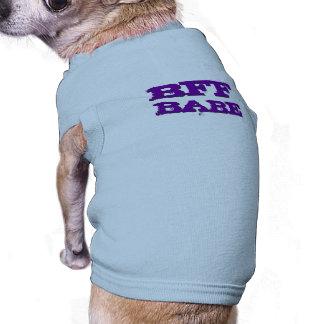 BFF BABE SLEEVELESS DOG SHIRT