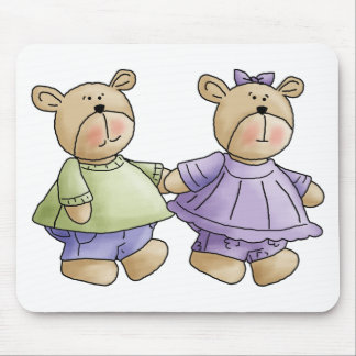 bff-bears mouse pad