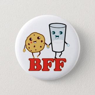 BFF, Best Friends Forever 6 Cm Round Badge