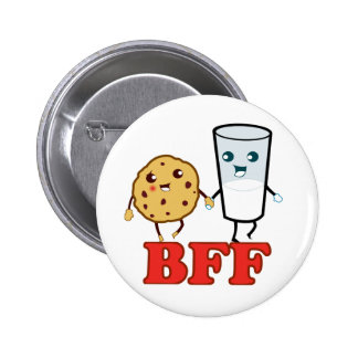BFF, Best Friends Forever 6 Cm Round Badge