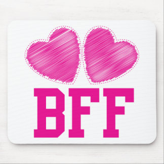 BFF Best friends forever !!! awesome! Mouse Pad