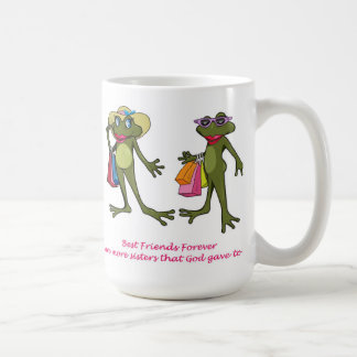 BFF Best Friends Forever Frog Mug