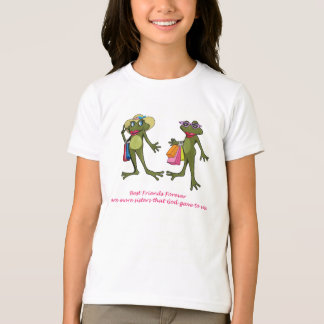 BFF Best Friends Forever Frog Tshirt