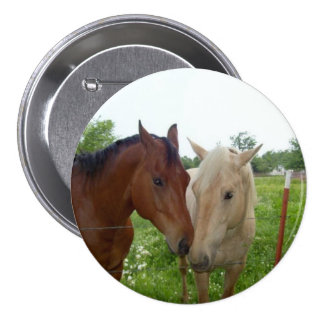 BFF Best Friends Forever - Horses 7.5 Cm Round Badge