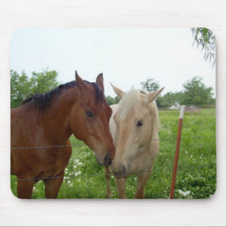 BFF Best Friends Forever - Horses Mousepad
