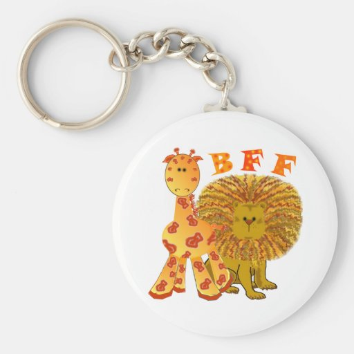 BFF Best Friends Forever Keychains