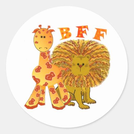 BFF Best Friends Forever Sticker