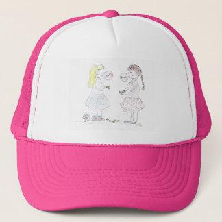 BFF_BubbleGum Trucker Hat
