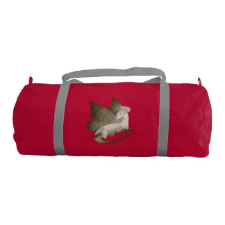 BFF Butterfly Dragons Duffel Gym Bag