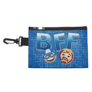 BFF Captain America & Iron Man Emoji Accessory Bag