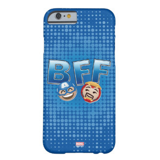 BFF Captain America & Iron Man Emoji Barely There iPhone 6 Case