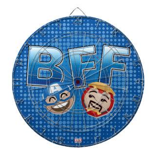BFF Captain America & Iron Man Emoji Dartboards