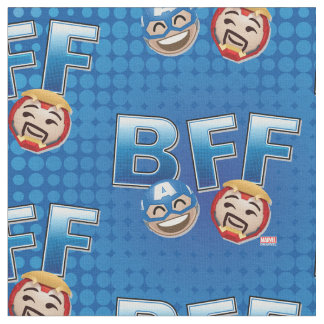 BFF Captain America & Iron Man Emoji Fabric