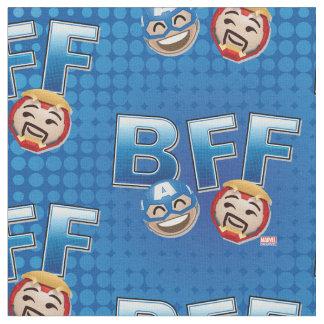 BFF Captain America & Iron Man Emoji Fabric