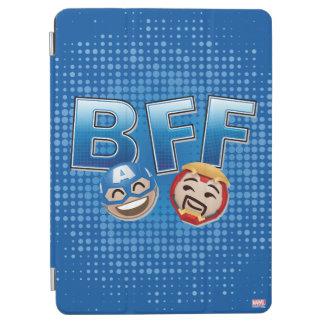 BFF Captain America & Iron Man Emoji iPad Air Cover