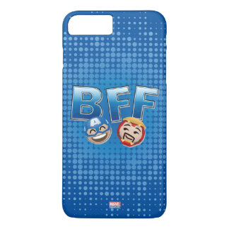 BFF Captain America & Iron Man Emoji iPhone 8 Plus/7 Plus Case