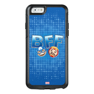 BFF Captain America & Iron Man Emoji OtterBox iPhone 6/6s Case