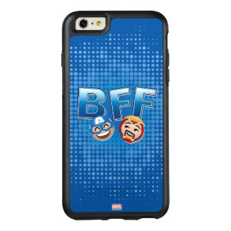 BFF Captain America & Iron Man Emoji OtterBox iPhone 6/6s Plus Case