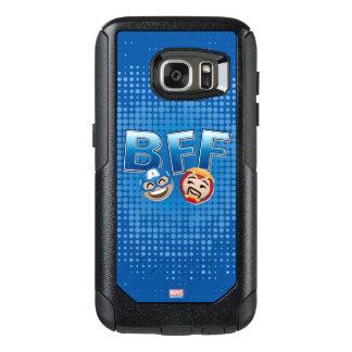 BFF Captain America & Iron Man Emoji OtterBox Samsung Galaxy S7 Case