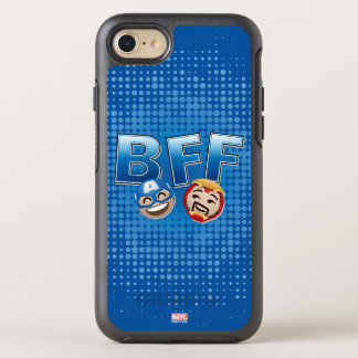 BFF Captain America & Iron Man Emoji OtterBox Symmetry iPhone 8/7 Case
