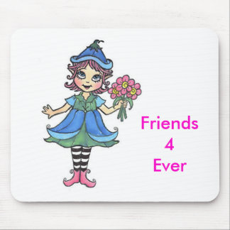 bff elf mouse pad