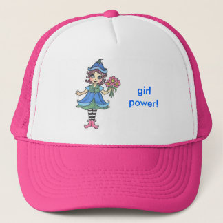bff elf trucker hat