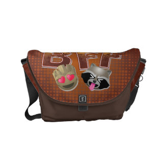 BFF Groot & Rocket Emoji Commuter Bag