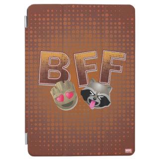 BFF Groot & Rocket Emoji iPad Air Cover