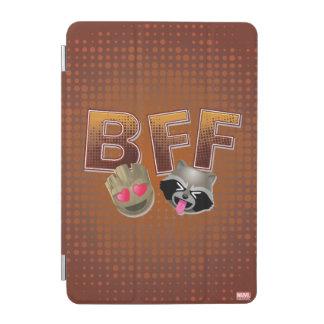 BFF Groot & Rocket Emoji iPad Mini Cover