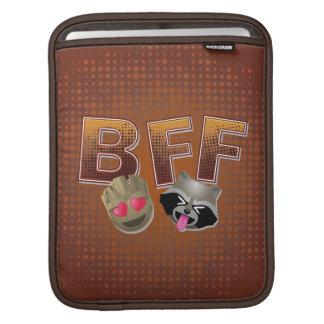 BFF Groot & Rocket Emoji iPad Sleeve