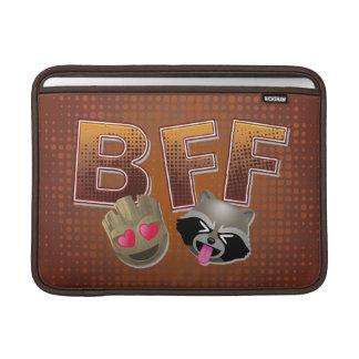BFF Groot & Rocket Emoji MacBook Sleeve