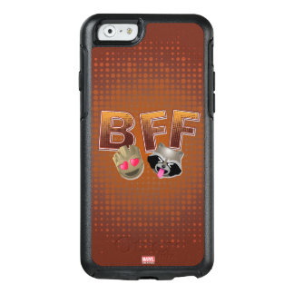 BFF Groot & Rocket Emoji OtterBox iPhone 6/6s Case
