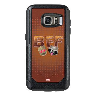 BFF Groot & Rocket Emoji OtterBox Samsung Galaxy S7 Case