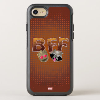 BFF Groot & Rocket Emoji OtterBox Symmetry iPhone 8/7 Case