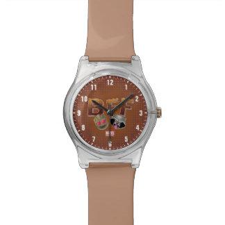 BFF Groot & Rocket Emoji Watch