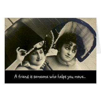 BFF Guys Friendship Fun Humor Secrets LOL friend Card