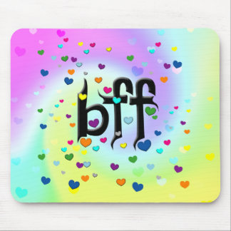 bff ~ hearts mouse pad