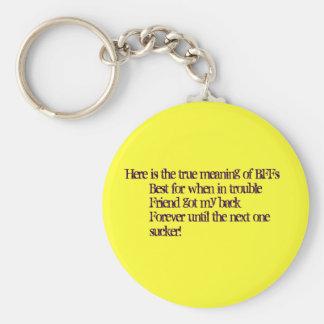 BFF key chain