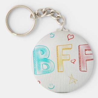 BFF KEY RING