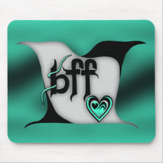 bff ~ lovebirds mousepad