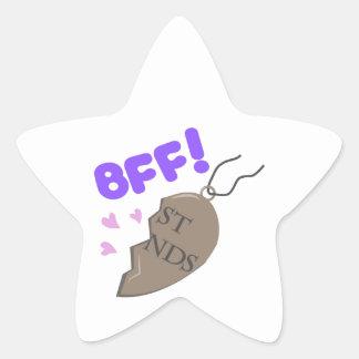 BFF Pendant Star Sticker