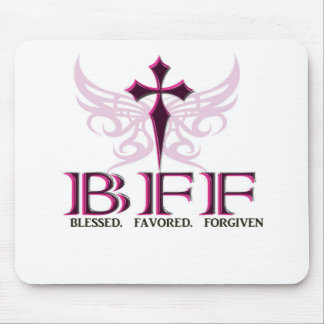 BFF purple Mouse Pad
