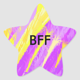 BFF STAR STICKER
