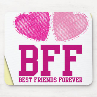 BFF THANK YOU! Best friends forever! Mouse Pads